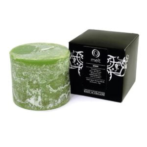 Eden Short & Fat Scented Candle
