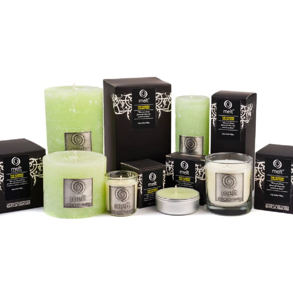 Lily Of The Valley Scented Candles
