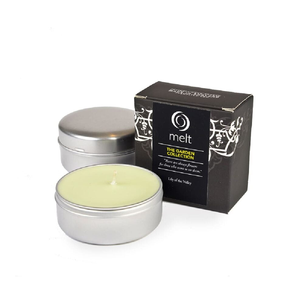 Lily Of The Valley Travel Candle
