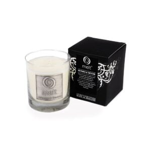 Nutmeg & Vetiver Luxury Glass Jar