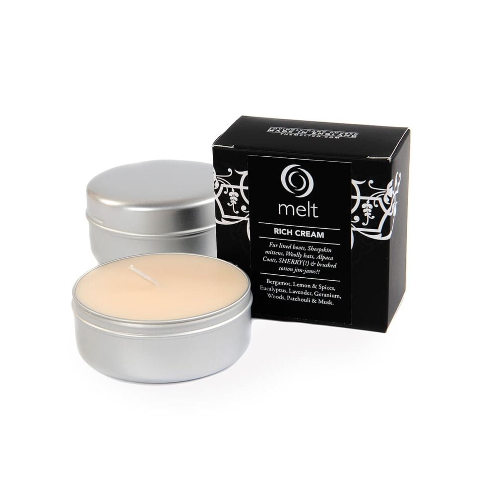 Rich Cream Travel Candle