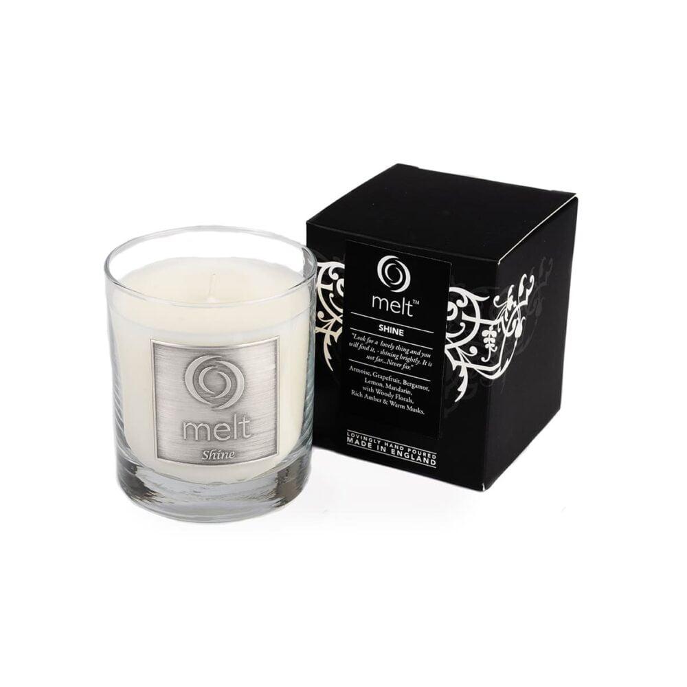 Shine Luxury Glass Jar