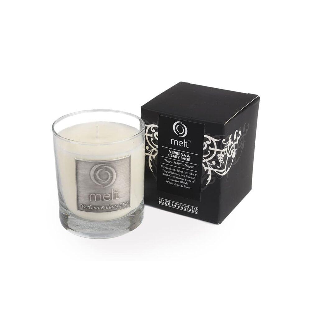 Verbena & Clary Sage Luxury Glass Jar