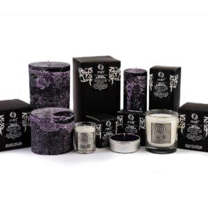 Violet & Black Pepper Scented Candles
