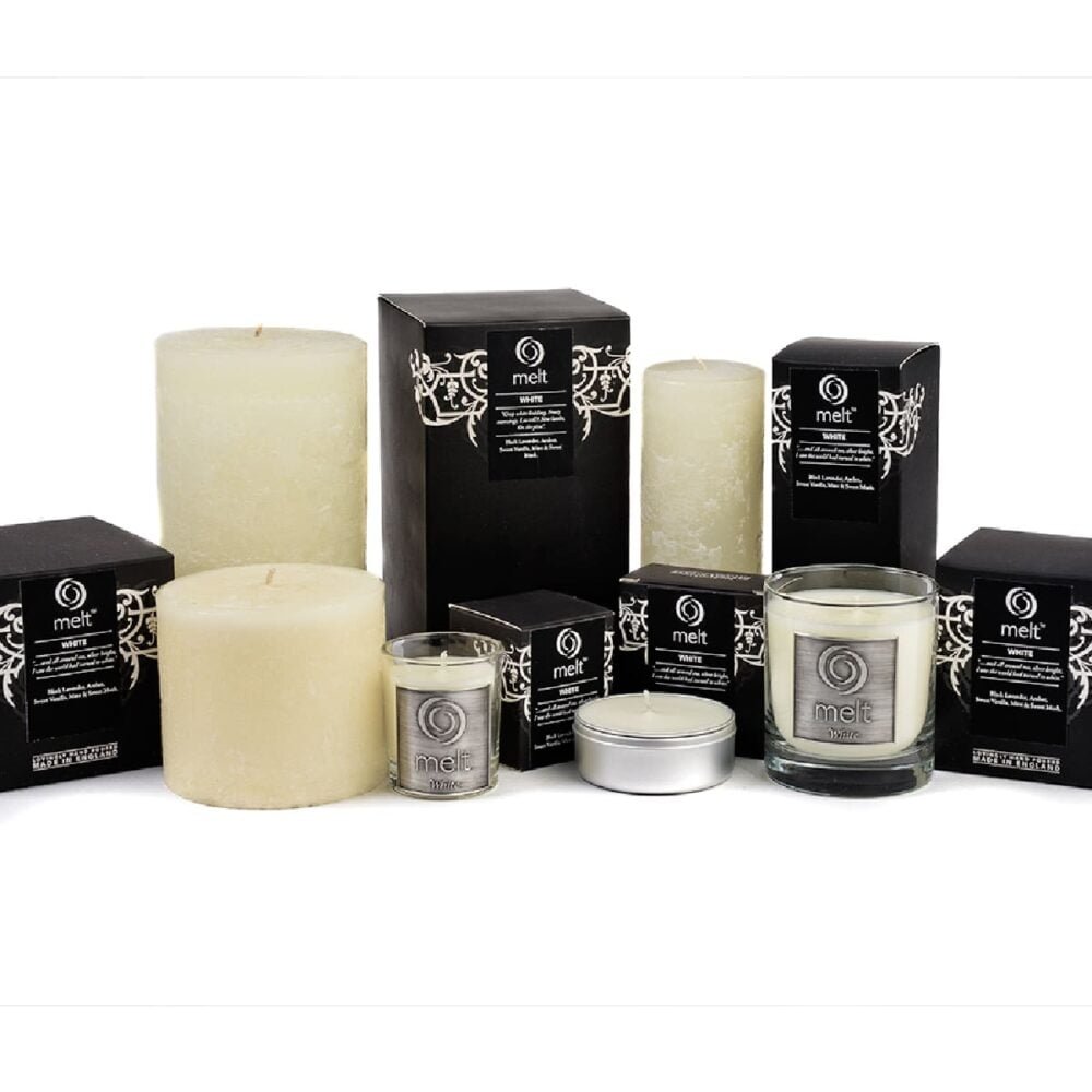 White Scented Candles