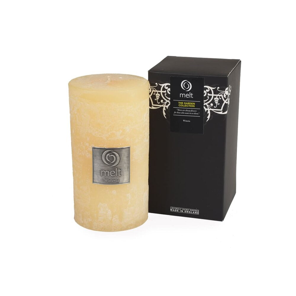 Wisteria Tall & Fat Scented Candle