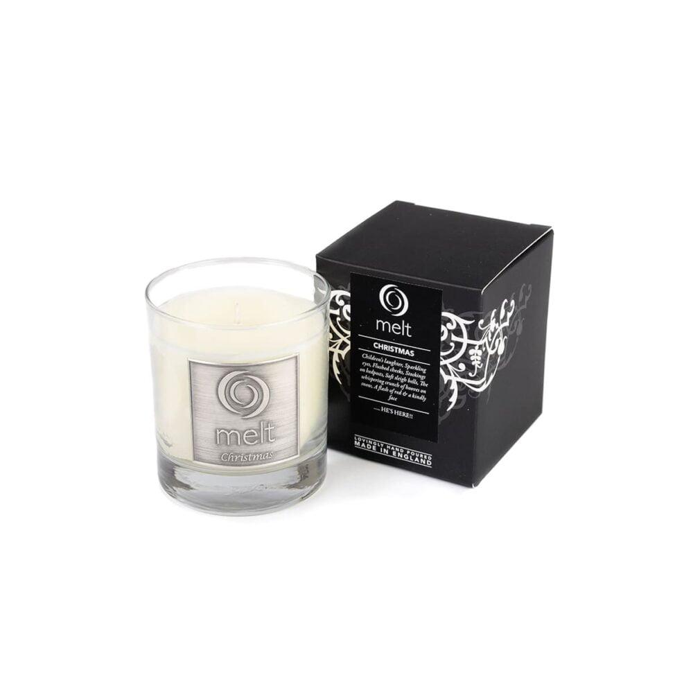 Christmas Luxury Glass Jar Candle