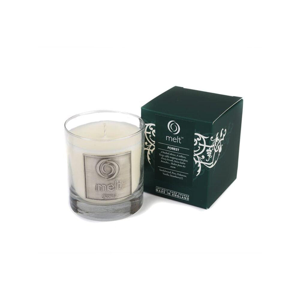 Forest Luxury Glass Jar
