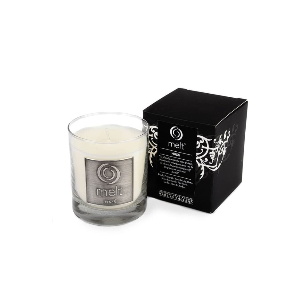 Hush Luxury Glass Jar