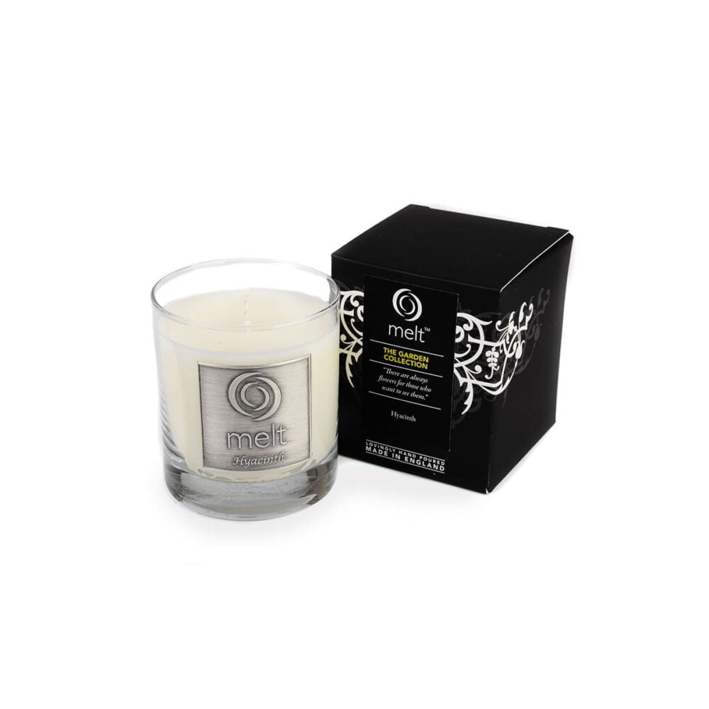 Hyacinth Luxury Glass Jar
