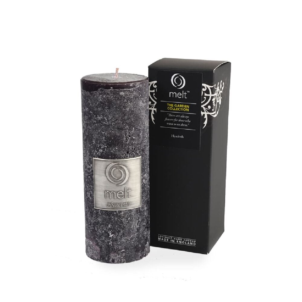 Hyacinth Tall & Thin Scented Candle