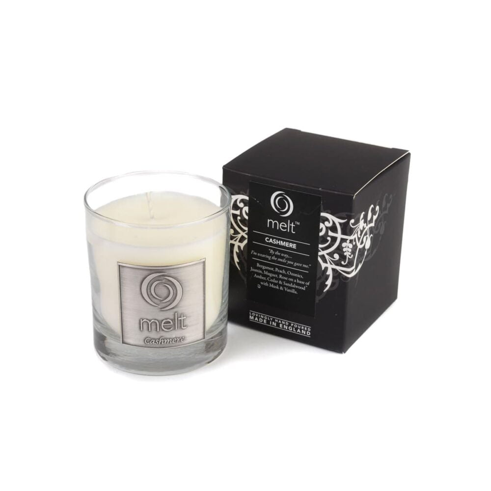 Cashmere Luxury Glass Jar Candle