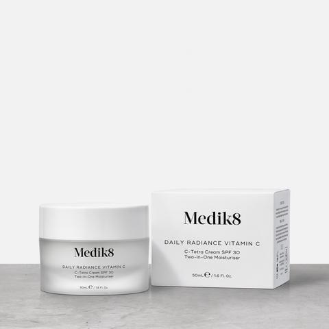 Medik8 Daily Radiance Vitamin C SPF 30 C-Tetra Antioxidant Cream
