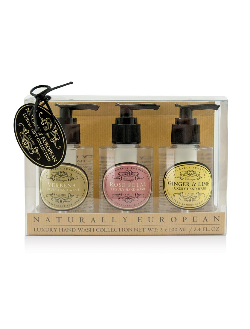 Naturally European Luxury Hand Wash Collection