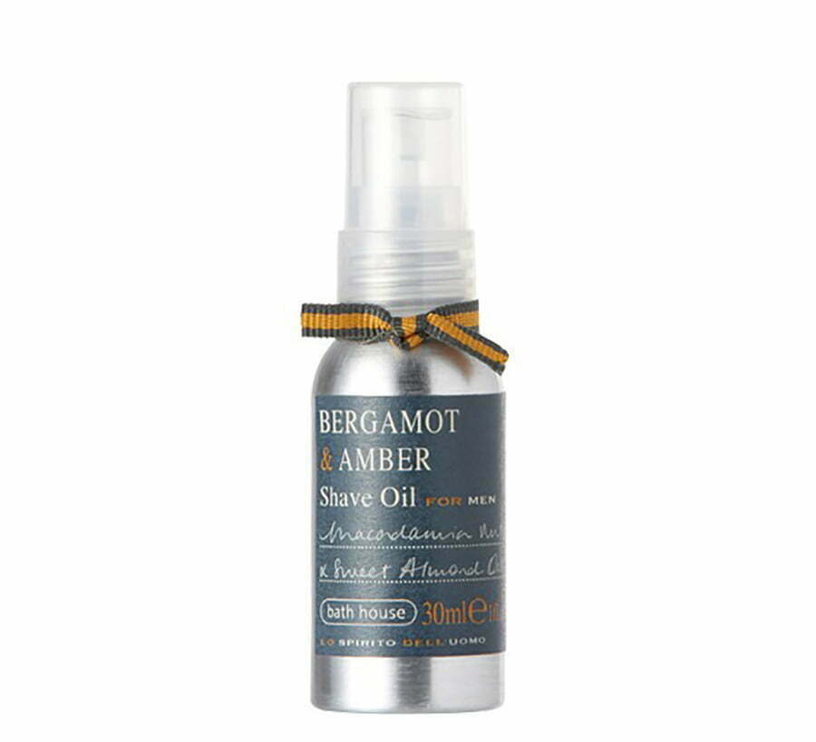 Bath House Bergamot & Amber Shave Oil