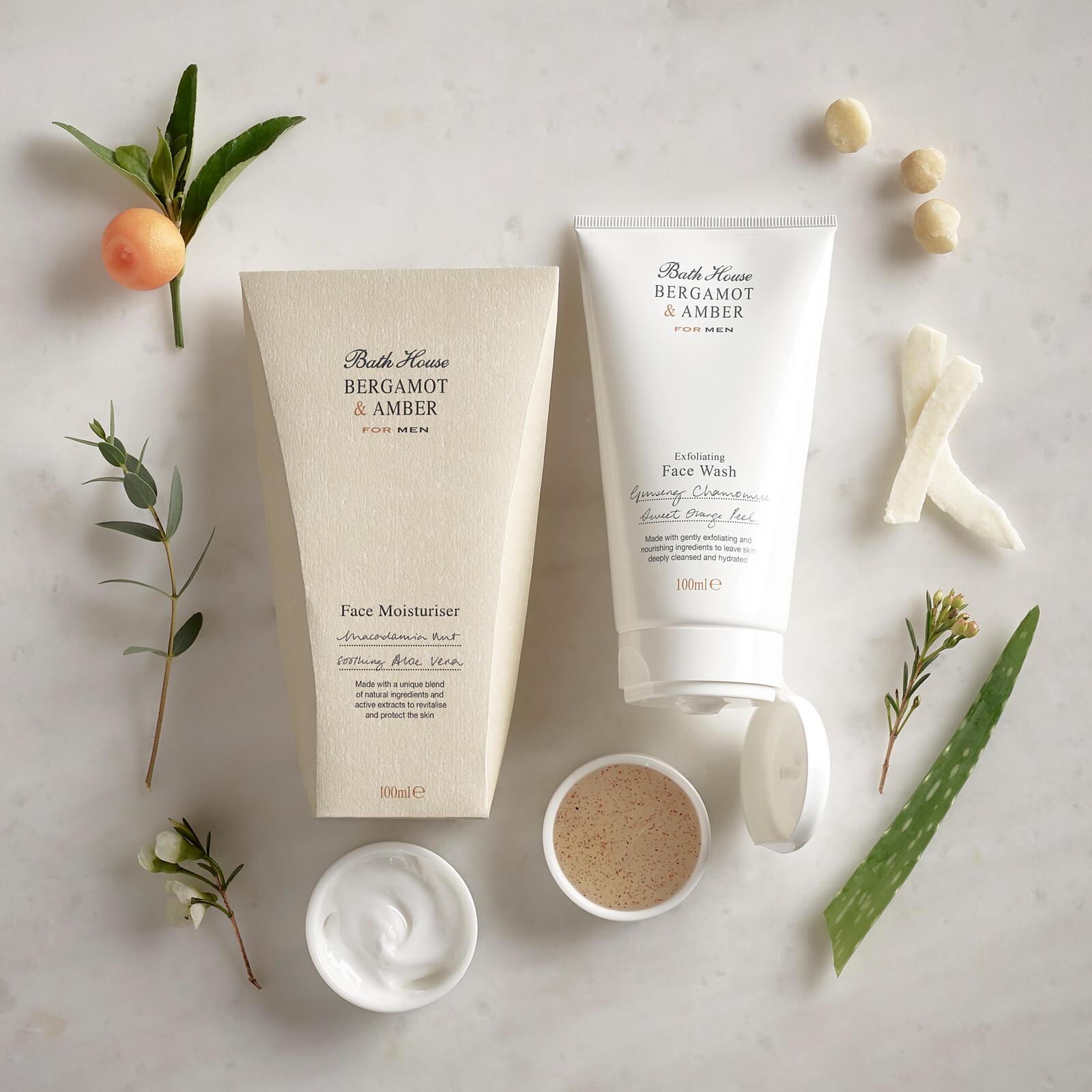 Bath House Bergamot & Amber Face Wash