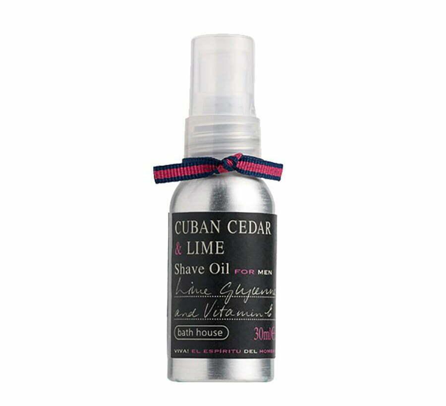Bath House Cuban Cedar & Lime Shave Oil