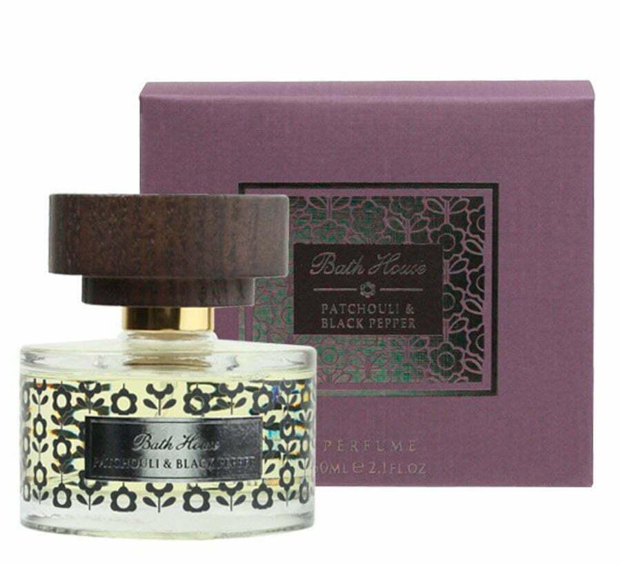 Bath House Patchouli & Black Pepper Perfume: 60ml