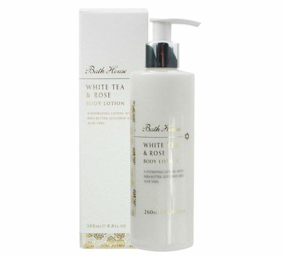 Bath House White Tea & Rose Body Lotion